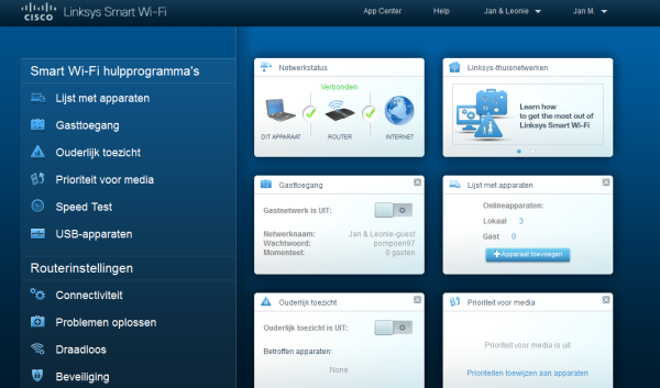 how to update firmware on linksys ea4500