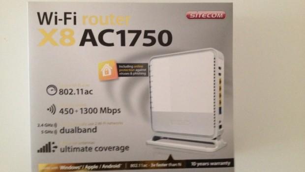 Sitecom X8 router